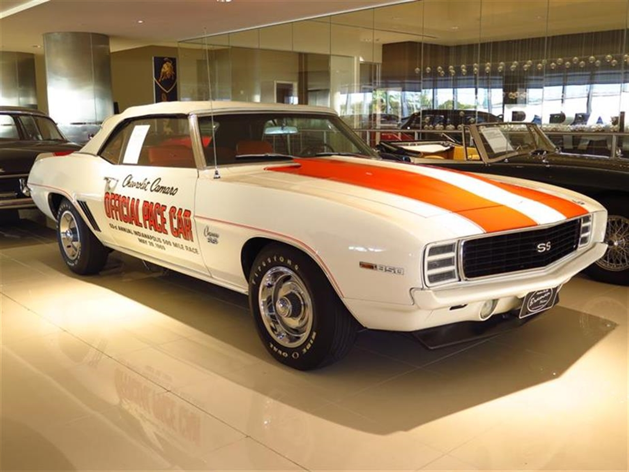 1969 CHEVROLET CAMARO 76662 miles VIN 124679N631711