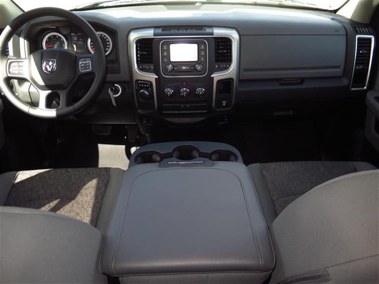 2015 RAM 1500 2WD Quad Cab Big Horn 17345 miles 402040 Split Bench Seat 4-Way Driver Seat -inc