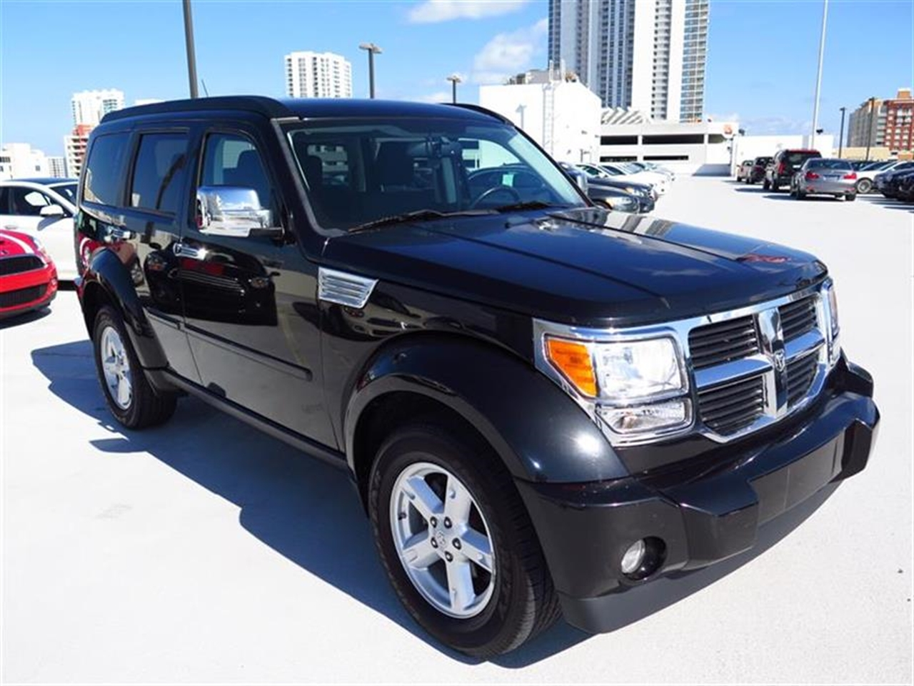 2008 DODGE NITRO 2WD 4dr SLT 39154 miles 115V auxiliary pwr outlet Air conditioning AMFMSirius