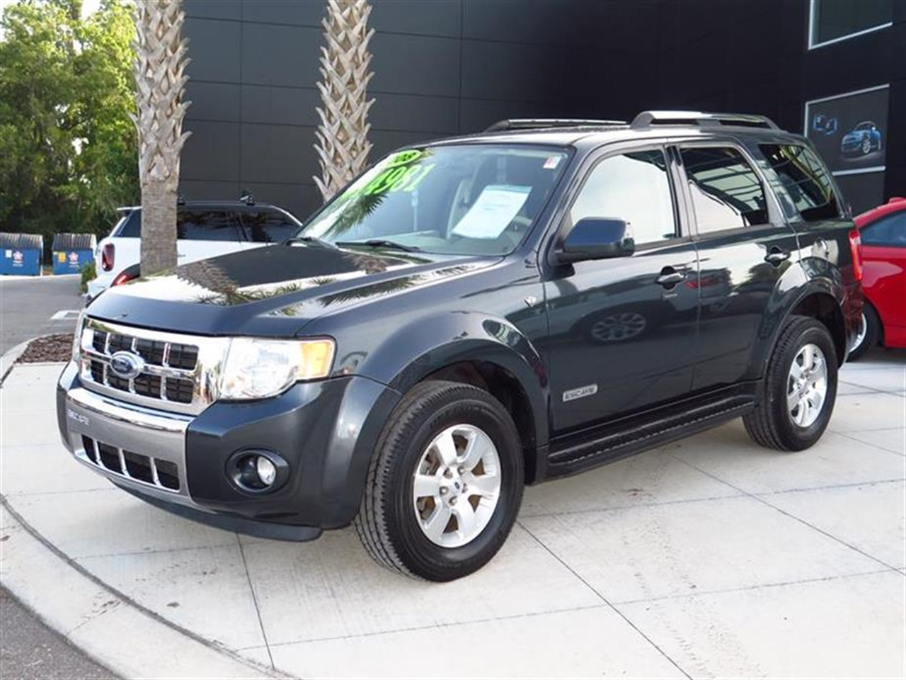 2008 FORD ESCAPE 4WD 4dr V6 Auto Limited 72666 miles 6-way pwr driver seat Air conditioning AMF