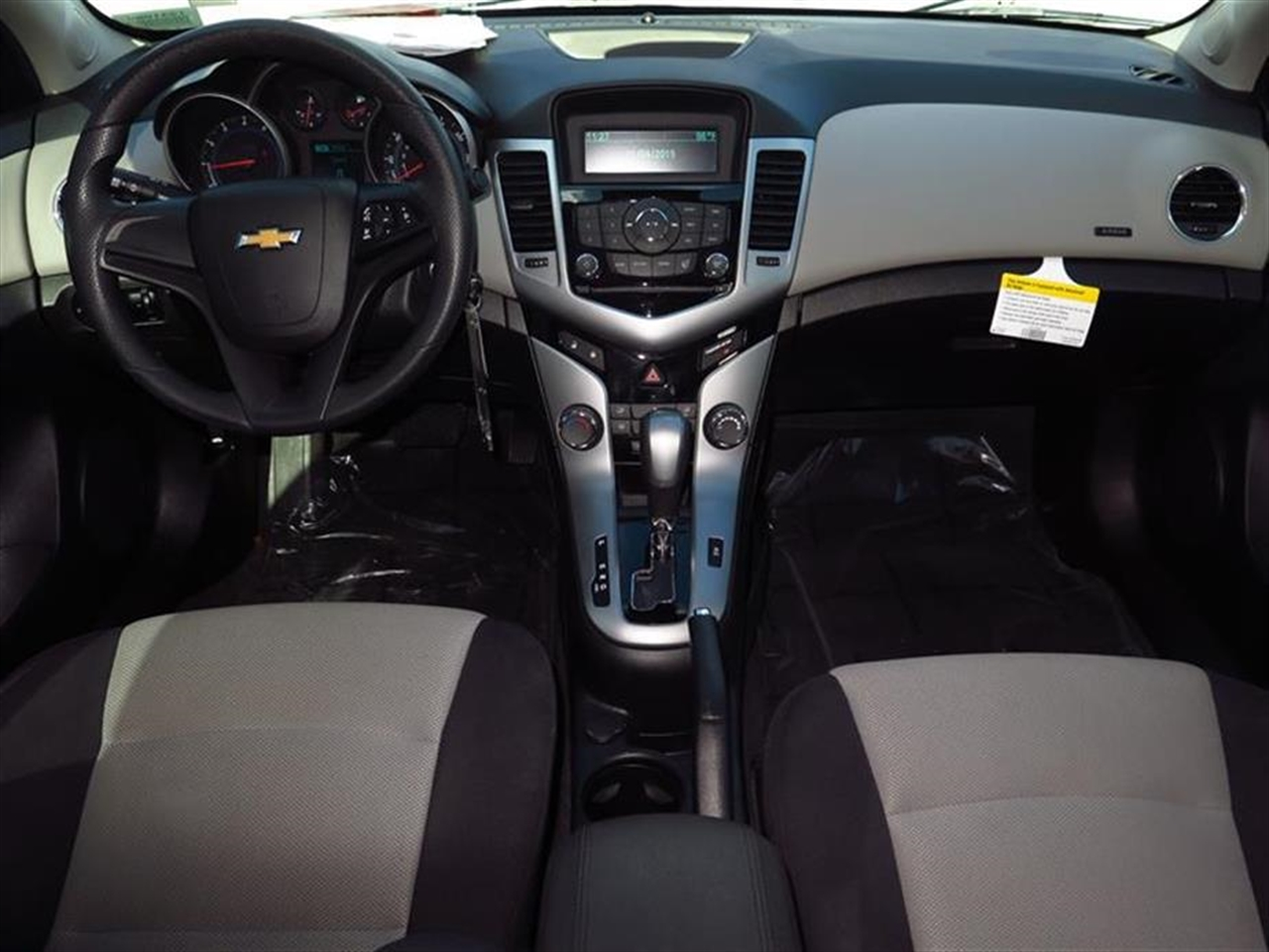 2013 CHEVROLET CRUZE 4dr Sdn Auto LS 40522 miles Air conditioning single-zone electronic includ