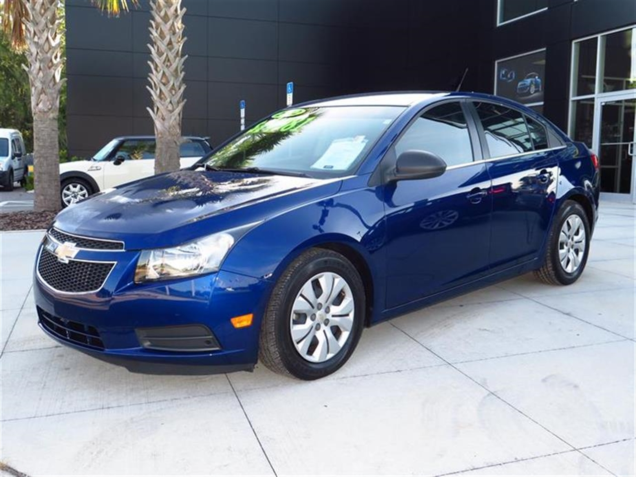 2012 CHEVROLET CRUZE 4dr Sdn LS 28344 miles Air conditioning single-zone electronic includes air