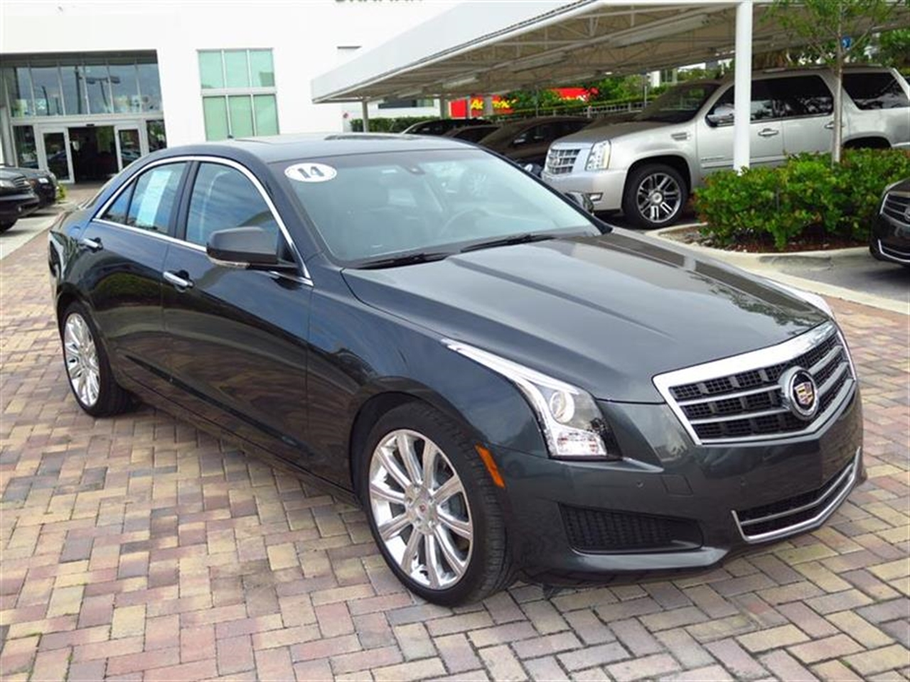2014 CADILLAC ATS 4dr Sdn 20L Luxury RWD 9374 miles Adaptive Remote Start Not available with M3