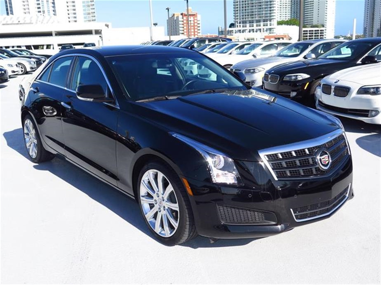 2013 CADILLAC ATS 4dr Sdn 20L Luxury RWD 8979 miles Adaptive Remote Start Not available with M