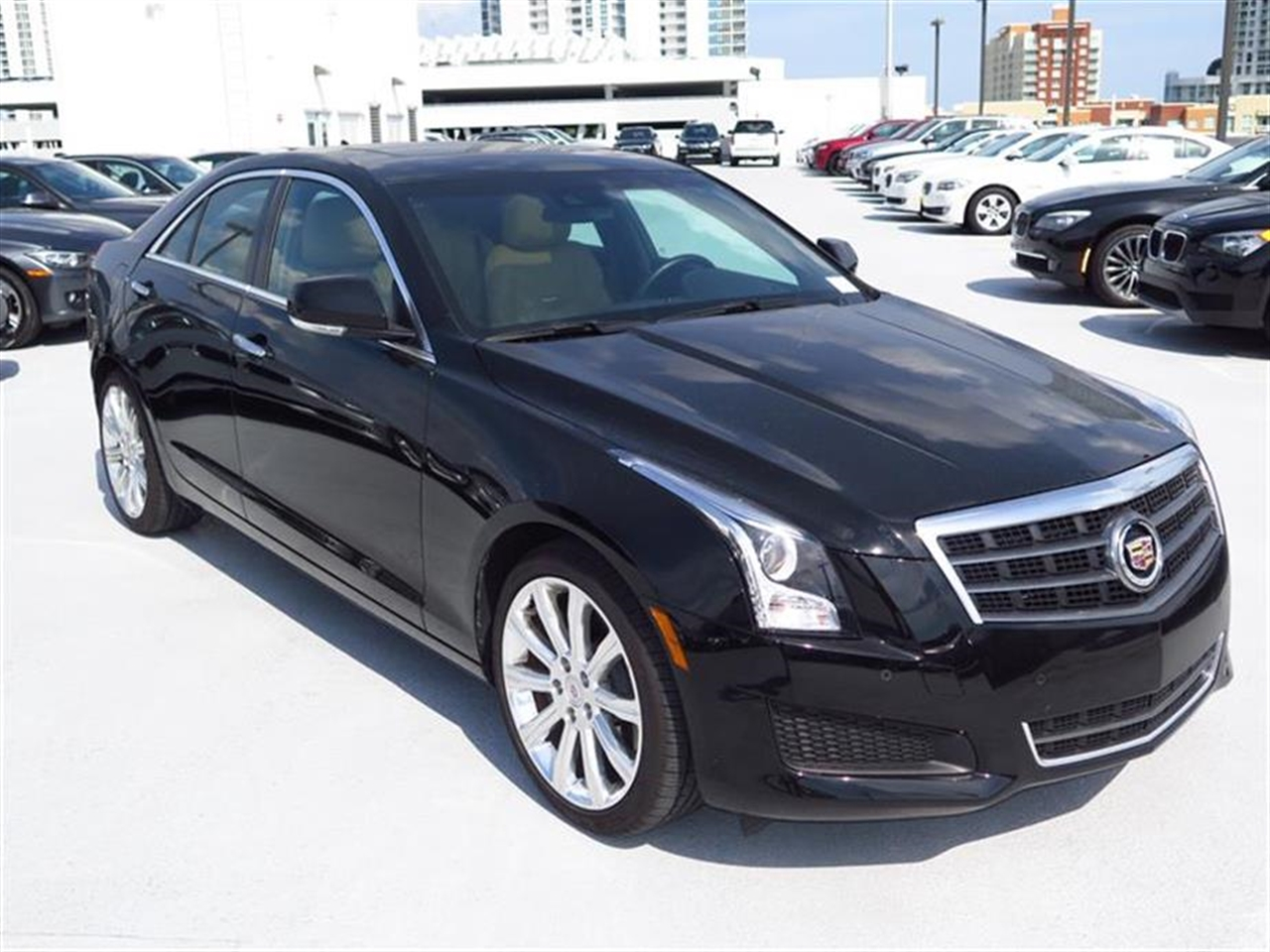 2014 CADILLAC ATS 4dr Sdn 25L Luxury RWD 10337 miles Adaptive Remote Start Air filtration syste