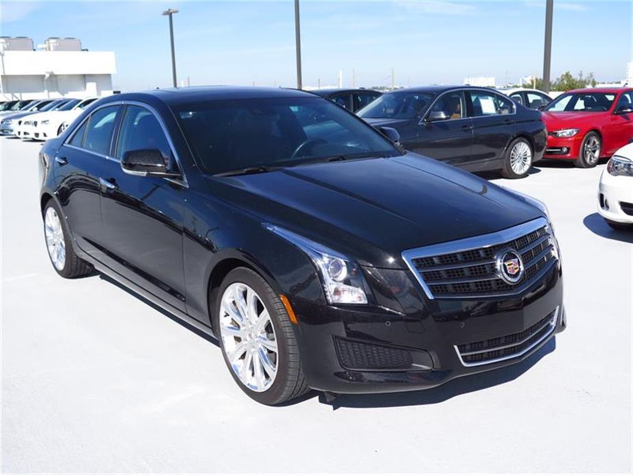 2014 CADILLAC ATS 4dr Sdn 20L Luxury RWD 9961 miles Adaptive Remote Start Not available with M