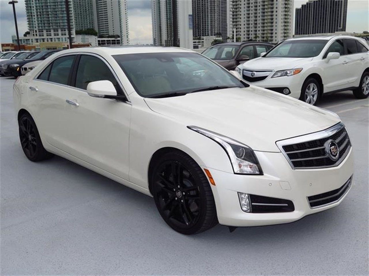 2013 CADILLAC ATS 4dr Sdn 20L Performance RWD 10008 miles Adaptive Remote Start Not available wi