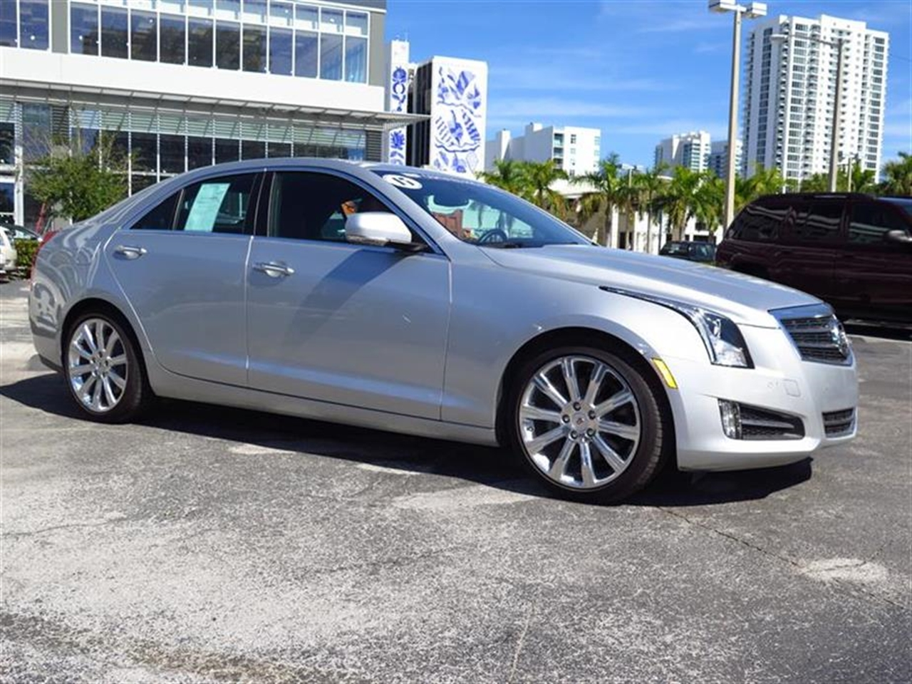 2013 CADILLAC ATS 4dr Sdn 20L Premium RWD 9719 miles Adaptive Remote Start Not available with M