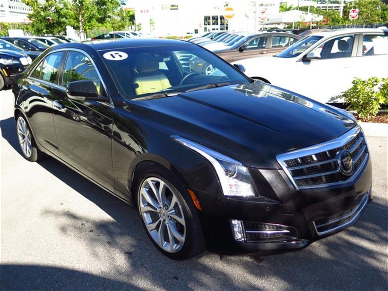 2013 CADILLAC ATS 4dr Sdn 36L Premium RWD 10533 miles Adaptive Remote Start Air filtration syste