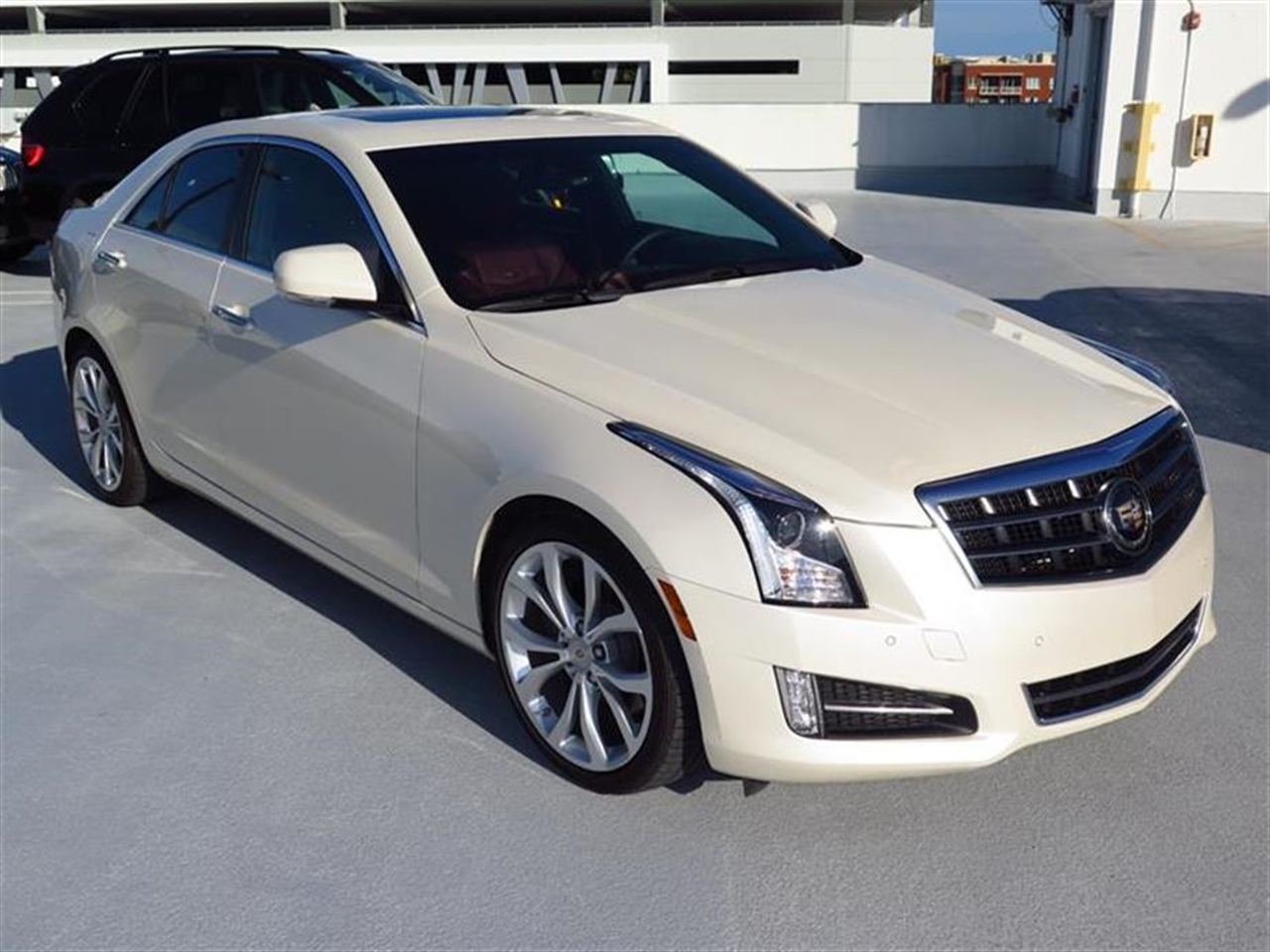 2013 CADILLAC ATS 4dr Sdn 20L Premium RWD 10037 miles Adaptive Remote Start Not available with