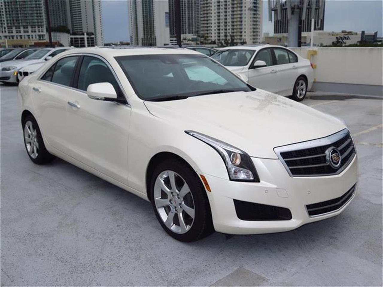 2014 CADILLAC ATS 4dr Sdn 20L Luxury AWD 5194 miles Adaptive Remote Start Air filtration system