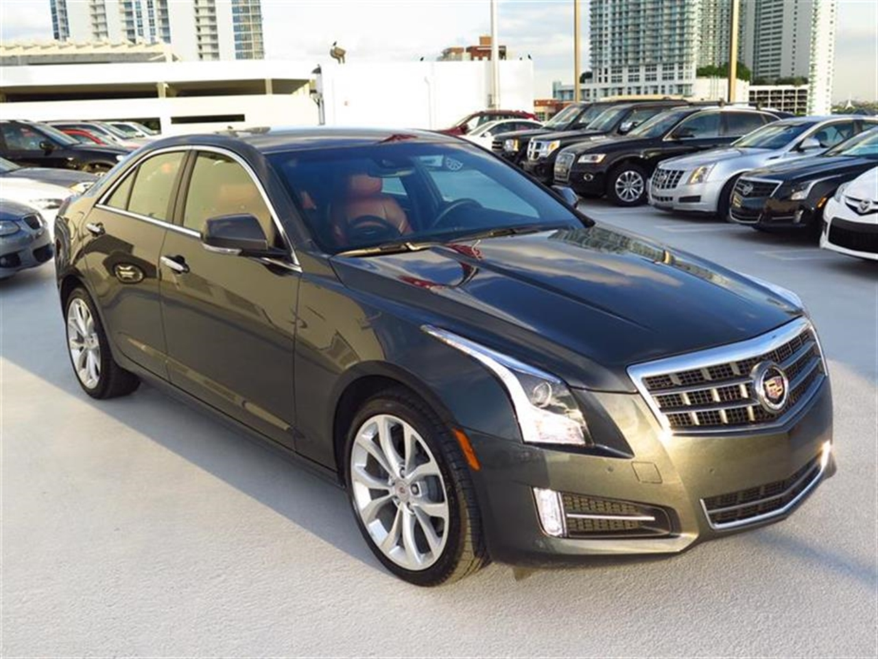 2014 CADILLAC ATS 4dr Sdn 20L Performance AWD 9821 miles Adaptive Remote Start Air filtration s