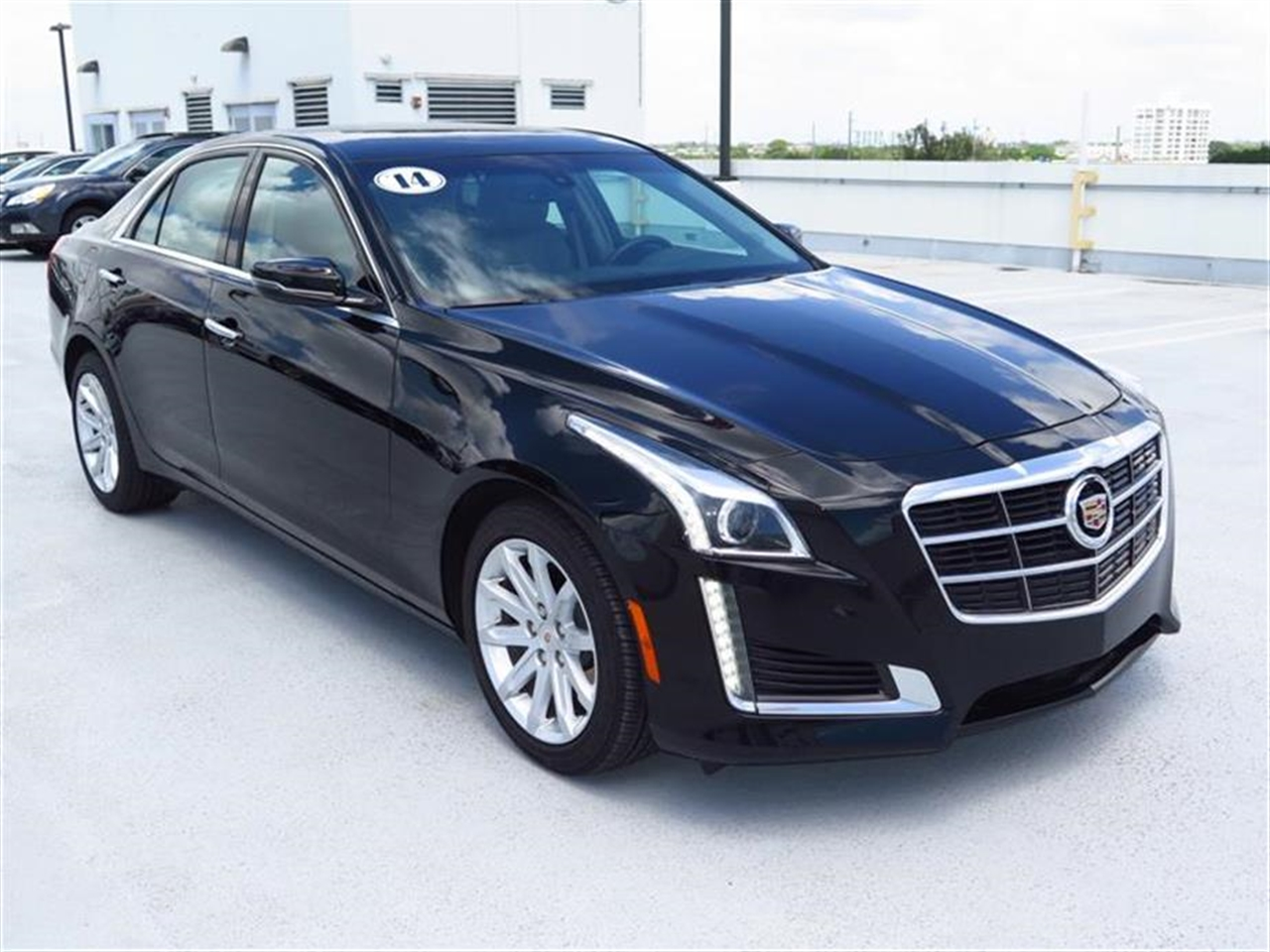2014 CADILLAC CTS 4dr Sdn 20L Turbo RWD 6289 miles Adaptive Remote Start Air filtration system