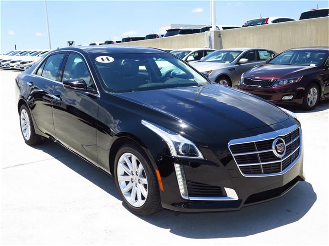 2014 CADILLAC CTS 4dr Sdn 20L Turbo RWD 6477 miles Adaptive Remote Start Air filtration system
