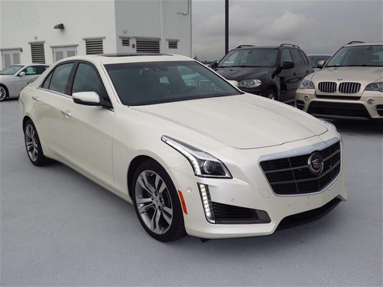 2014 CADILLAC CTS 4dr Sdn 36L Twin Turbo Vsport Premium RWD 11775 miles Adaptive Remote Start Ai