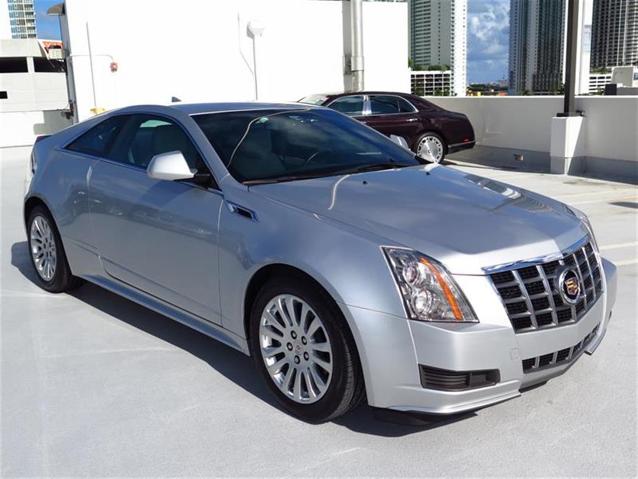 2012 CADILLAC CTS 2dr Cpe RWD 29026 miles Armrest front center Climate control dual-zone automa