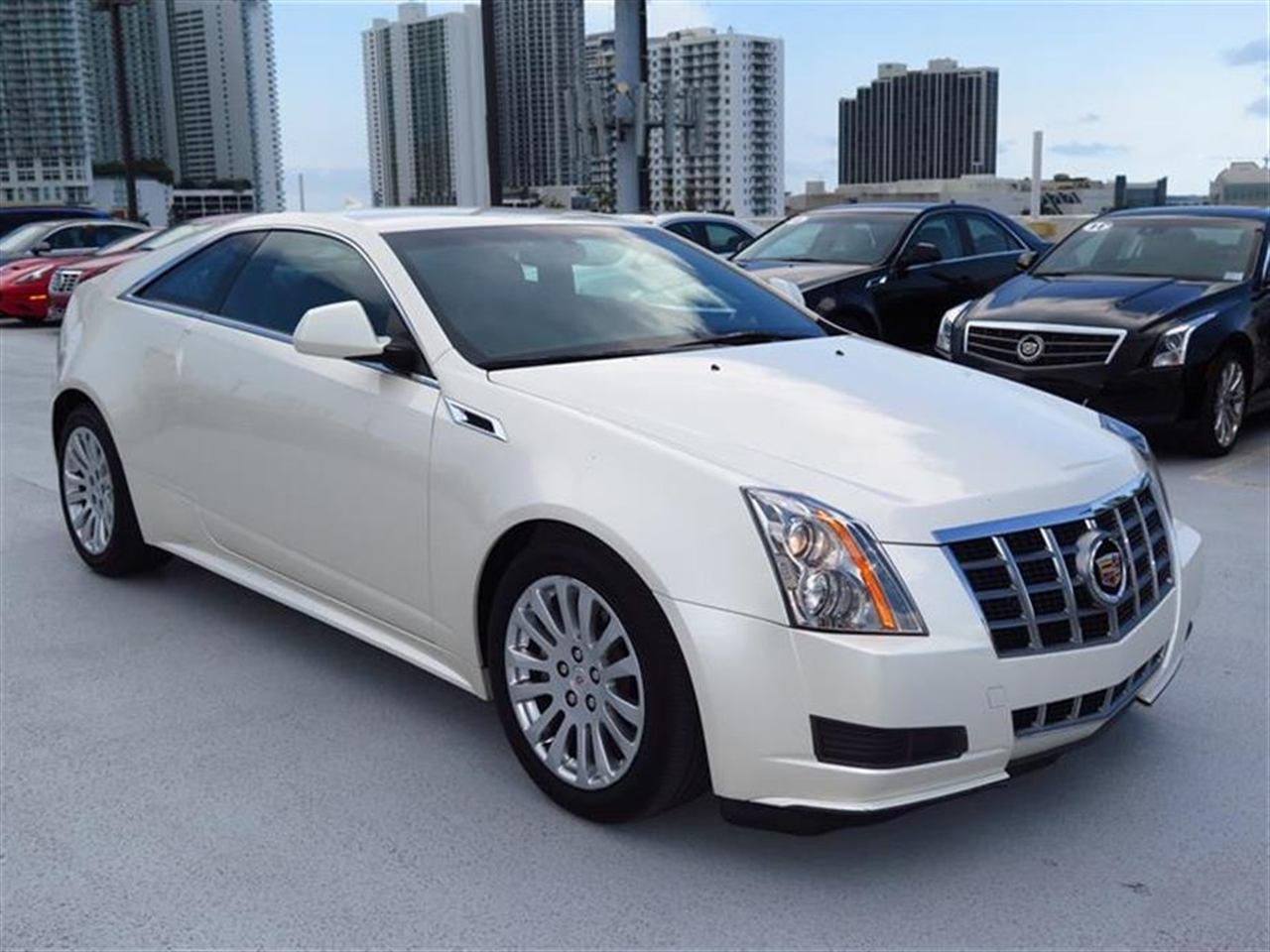 2012 CADILLAC CTS 2dr Cpe RWD 14968 miles Armrest front center Climate control dual-zone autom