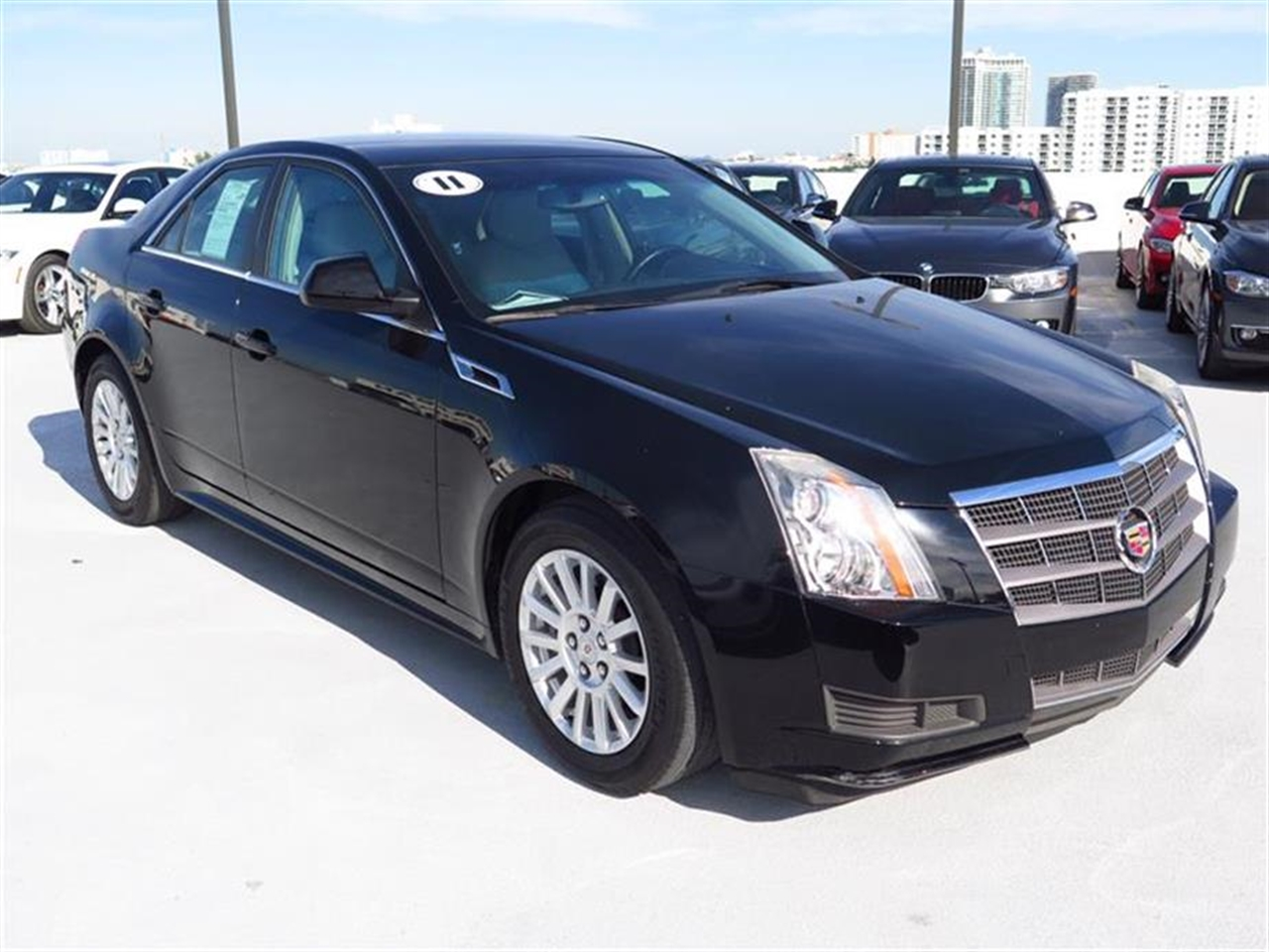 2011 CADILLAC CTS 4dr Sdn 30L RWD 11660 miles Armrest front center rear center with dual cup h