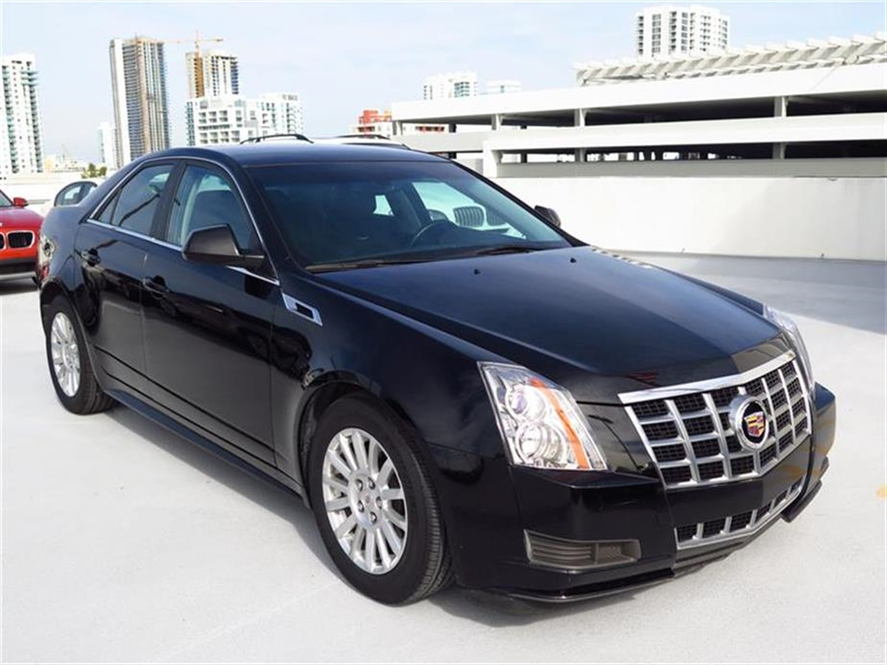 2013 CADILLAC CTS 4dr Sdn 30L Luxury RWD 10104 miles Armrest front center rear center with dua