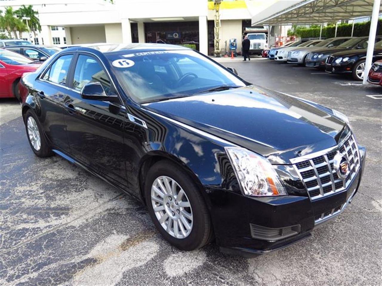 2013 CADILLAC CTS 4dr Sdn 30L Luxury RWD 11175 miles VIN 1G6DE5E52D0127538