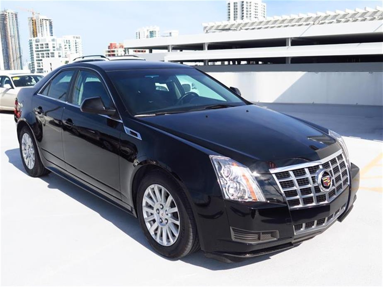 2013 CADILLAC CTS 4dr Sdn 30L Luxury RWD 10448 miles Armrest front center rear center with dua