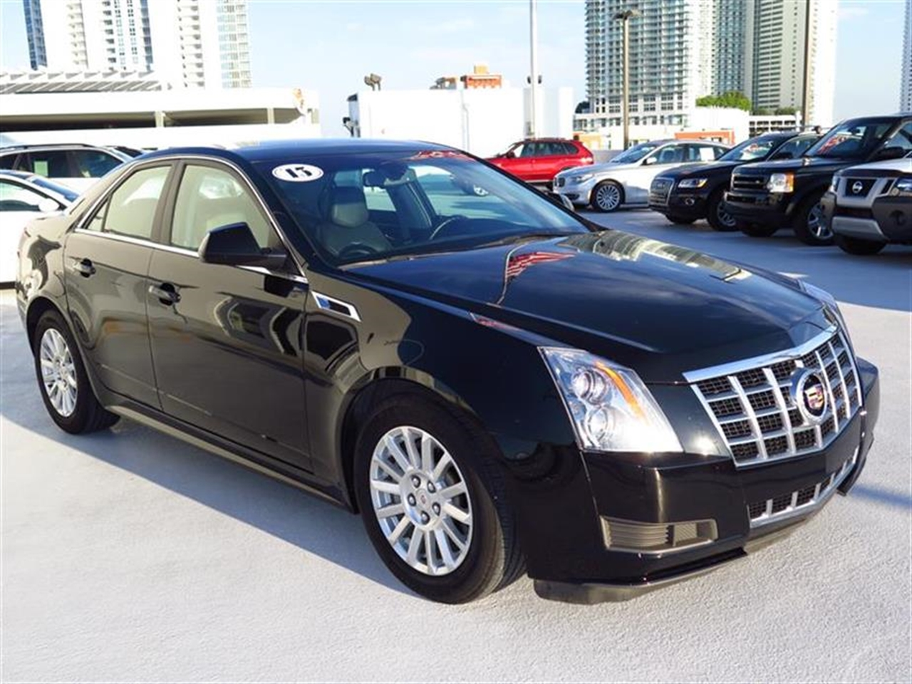 2013 CADILLAC CTS 4dr Sdn 30L Luxury RWD 9996 miles VIN 1G6DE5E54D0101393