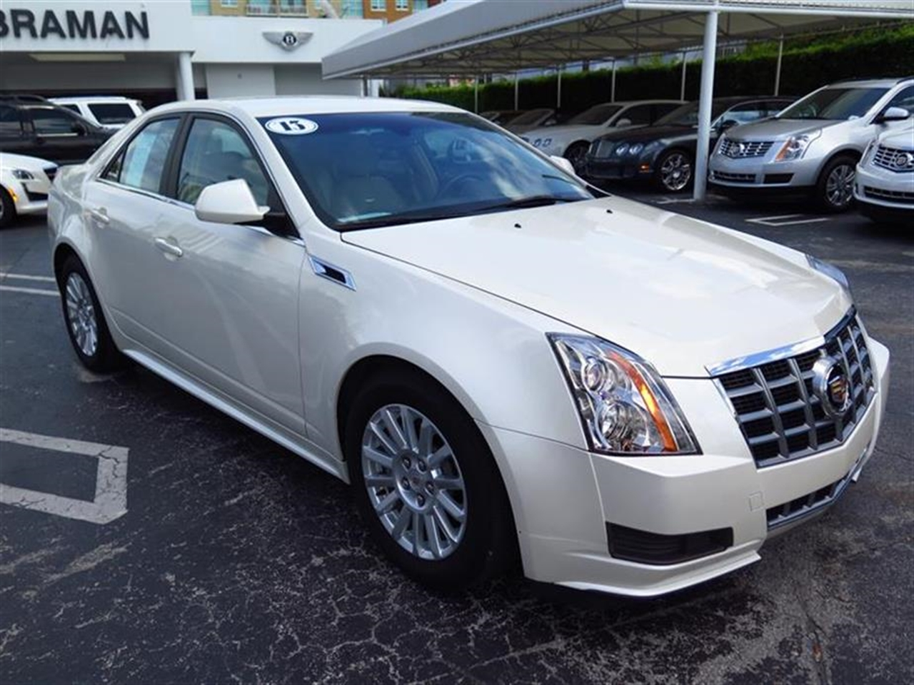 2013 CADILLAC CTS SEDAN 4dr Sdn 30L Luxury RWD 12902 miles Armrest front center rear center wit