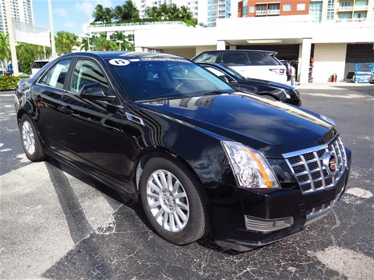 2013 CADILLAC CTS 4dr Sdn 30L Luxury RWD 10497 miles Armrest front center rear center with dual