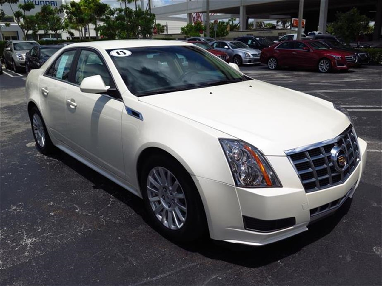 2013 CADILLAC CTS 4dr Sdn 30L Luxury RWD 11735 miles Armrest front center rear center with dual