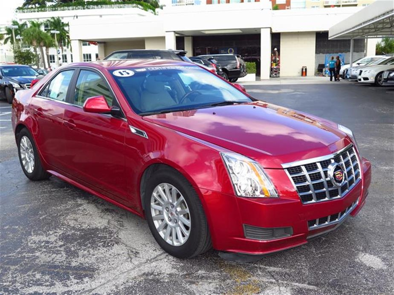 2013 CADILLAC CTS 4dr Sdn 30L Luxury RWD 12228 miles Armrest front center rear center with dual