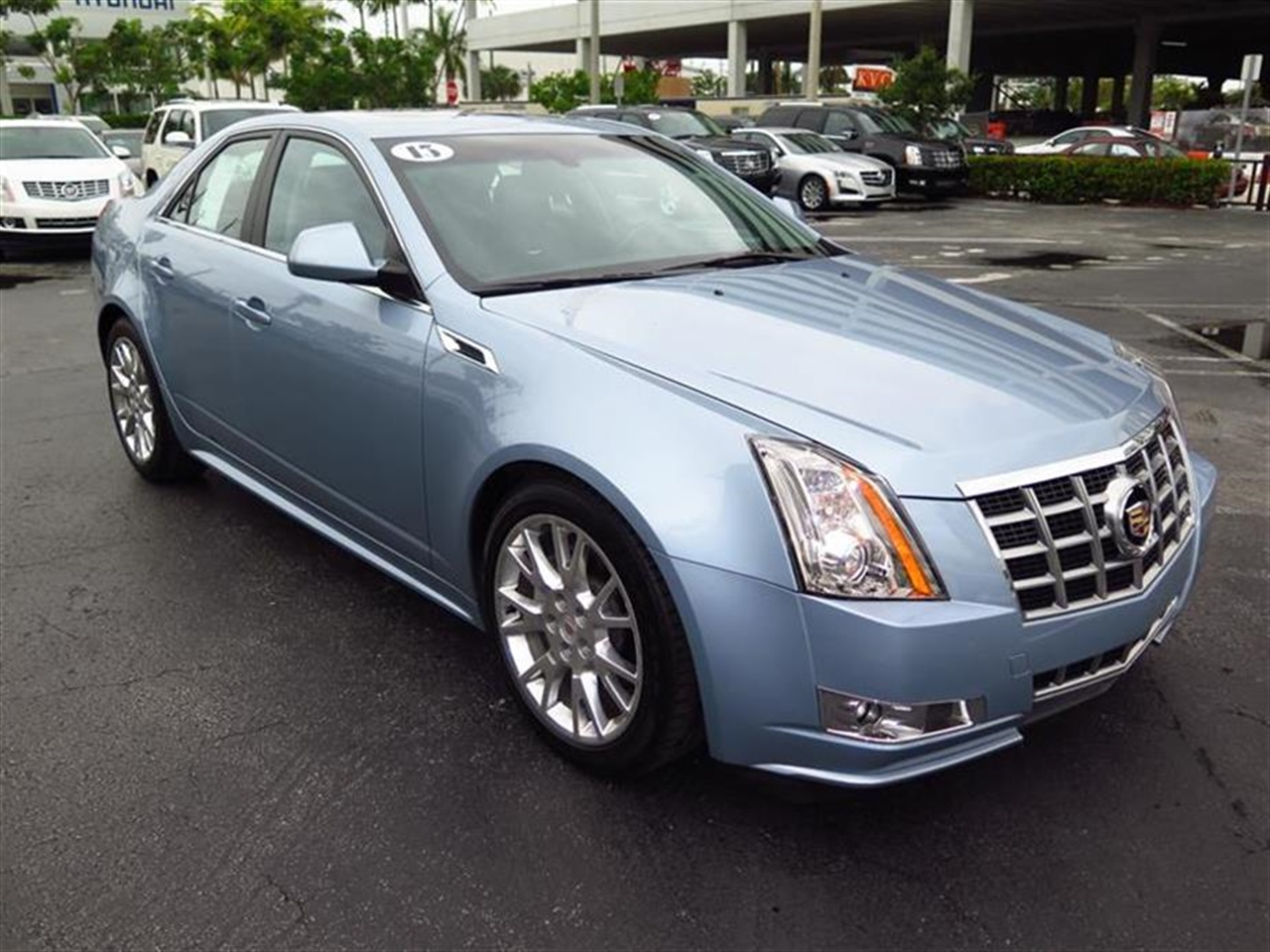 2013 CADILLAC CTS 4dr Sdn 36L Performance RWD 10805 miles Armrest front center rear center wit