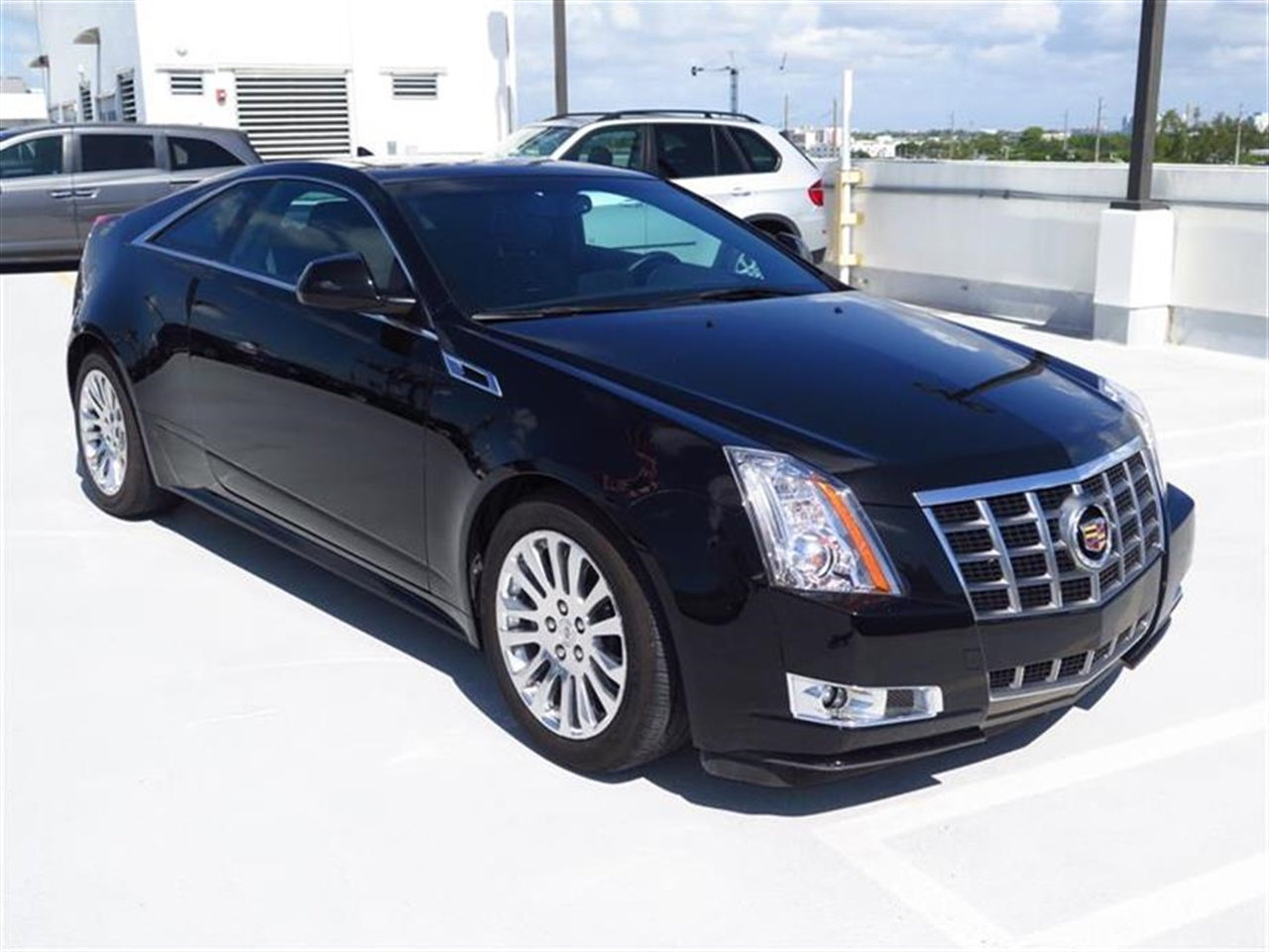 2012 CADILLAC CTS 2dr Cpe Performance RWD 10843 miles Armrest front center Cargo convenience ne