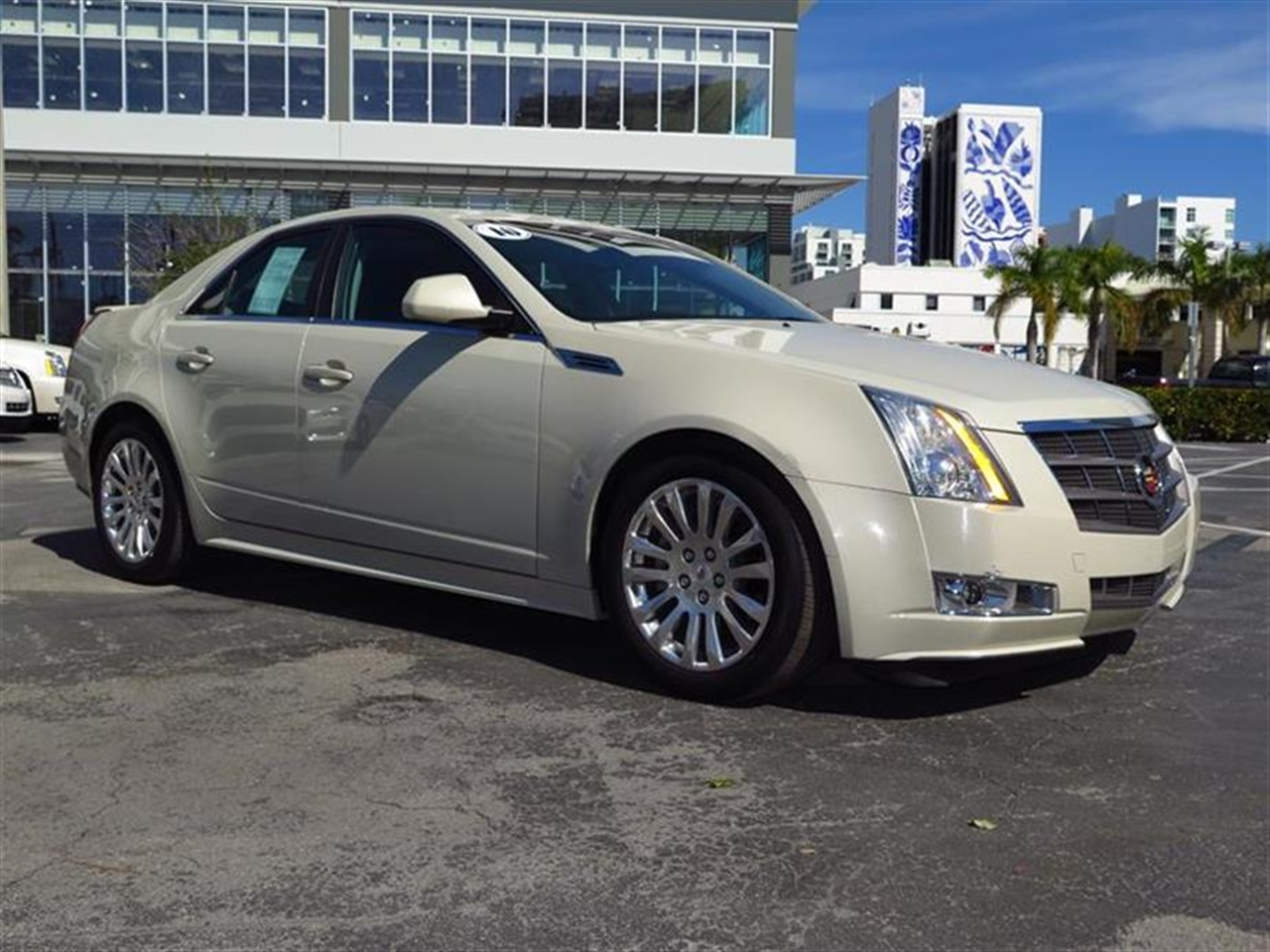2010 CADILLAC CTS 4dr Sdn 36L Premium RWD 17271 miles Air filtration system automatic cabin odor