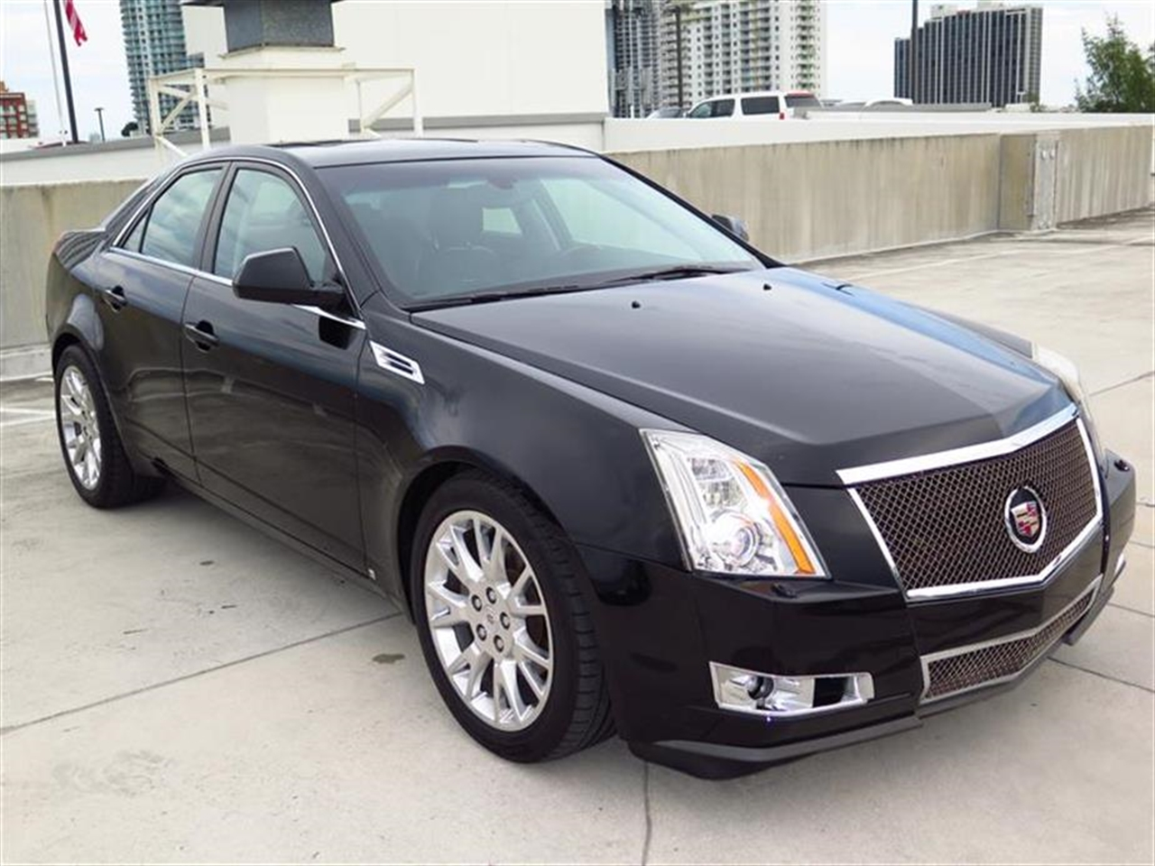 2008 CADILLAC CTS 4dr Sdn RWD w1SB 76076 miles Armrest front center rear center with dual cup h