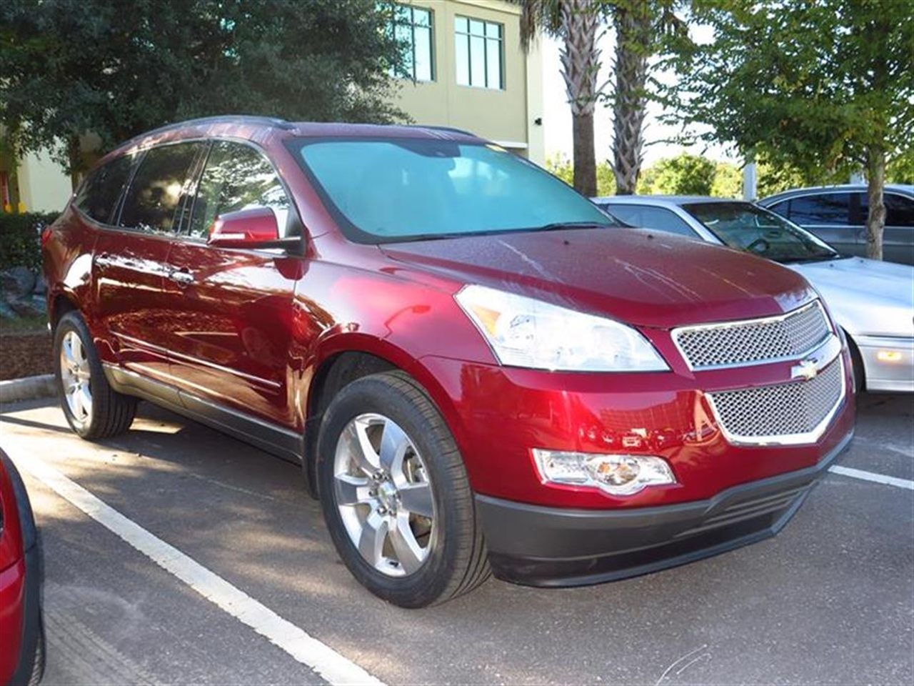 2011 CHEVROLET TRAVERSE FWD 4dr LTZ 45133 miles Air conditioning rear manual tri-zone automatic