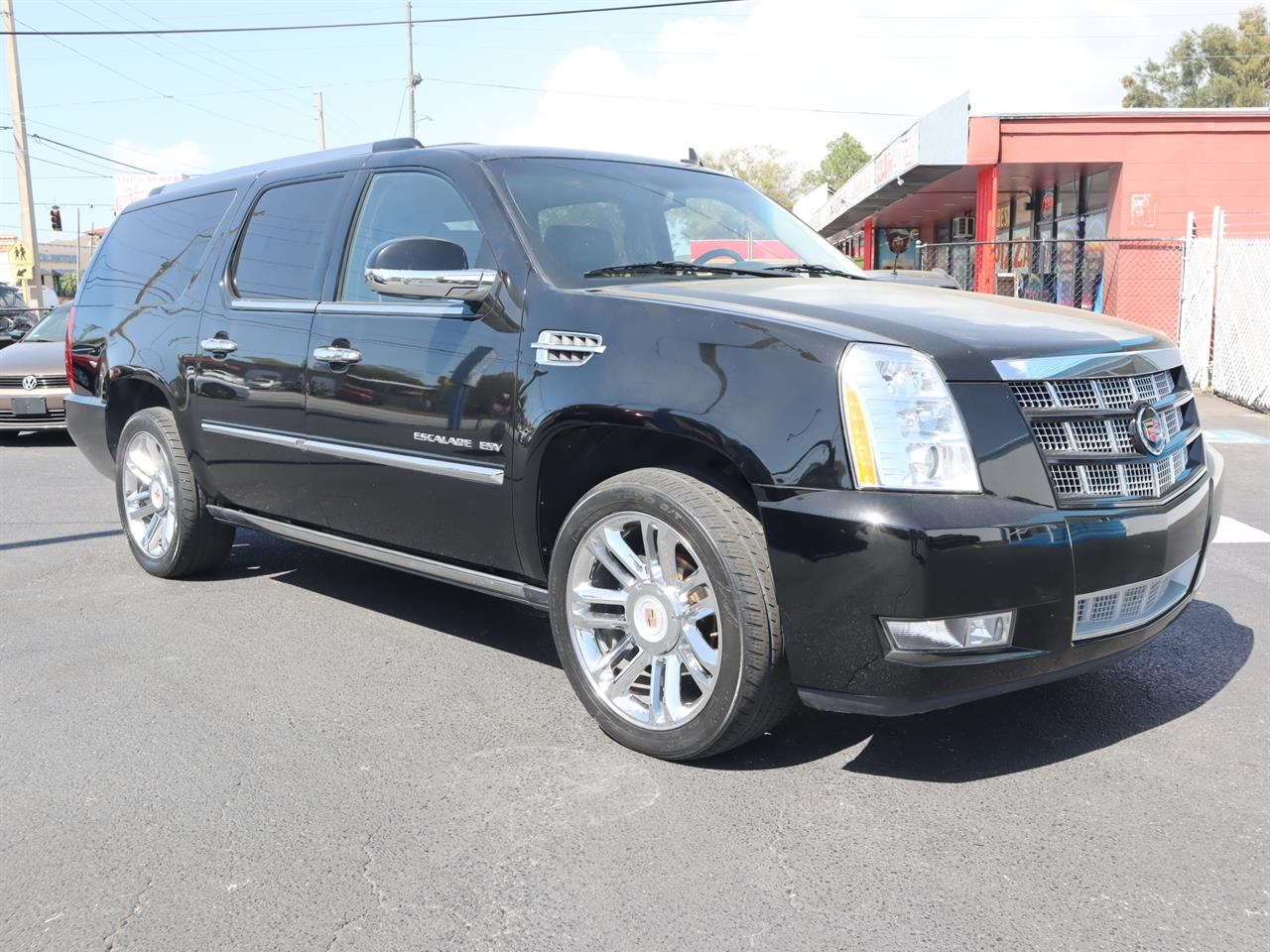 2014 CADILLAC ESCALADE ESV AWD 4dr Platinum 16684 miles Climate control rear air conditioning r
