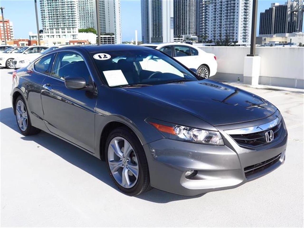 2012 HONDA ACCORD 2dr V6 Auto EX-L 14508 miles 2 12V pwr outlets Cargo area light Center cons