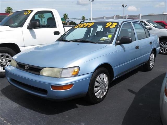 1993 Toyota Corolla near Clearwater FL 33764 for $2,818.00