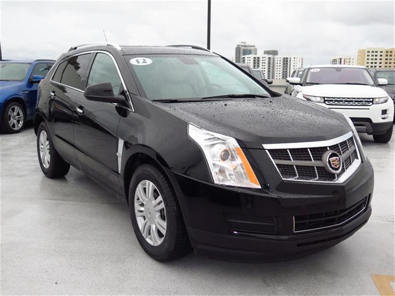 2012 CADILLAC SRX FWD 4dr Luxury Collection 28225 miles Adaptive Remote Start Armrest front cen