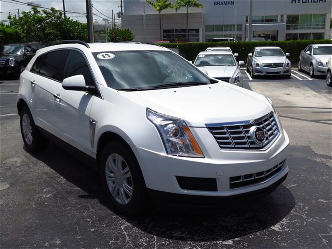 2015 CADILLAC SRX FWD 4dr Base 176 miles Armrest front center foreaft sliding rear center wi
