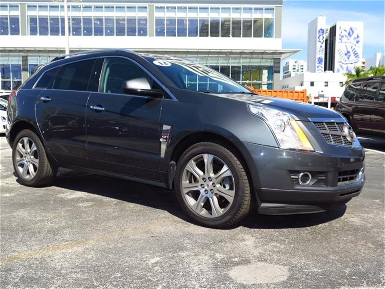 2012 CADILLAC SRX FWD 4dr Performance Collection 43881 miles Adaptive Remote Start Armrest front
