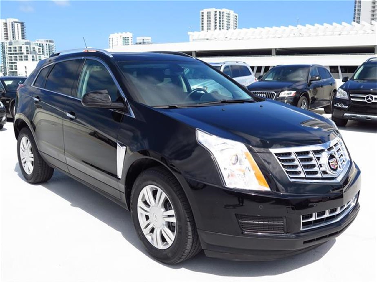 2013 CADILLAC SRX FWD 4dr Luxury Collection 11863 miles Adaptive Remote Start Armrest front cen