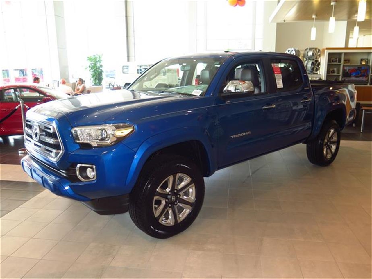 2016 TOYOTA TACOMA 4WD Double Cab V6 AT Limited 0 miles 2 12V DC Power Outlets 2 12V DC Power Ou