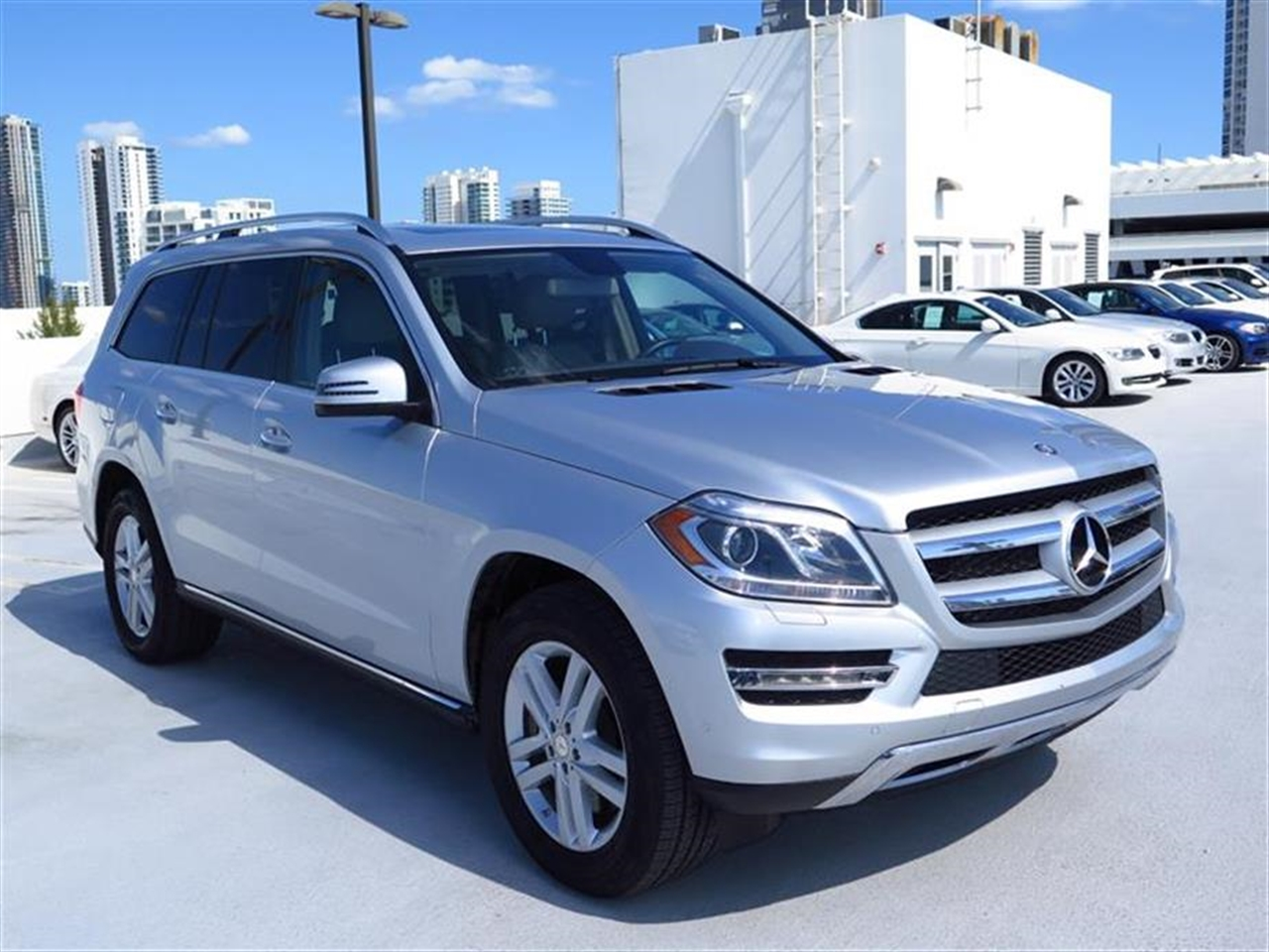 2013 Mercedes GL-CLASS 4MATIC 4dr GL450 37876 miles 6 cup  2 bottle holders 12-volt pwr out