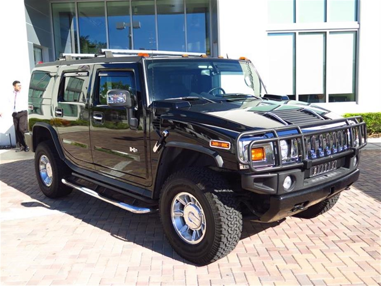 2007 HUMMER H2 4WD 4dr SUV 64335 miles Air conditioning dual-zone automatic climate control with