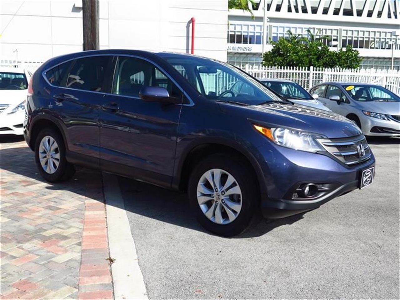 2012 HOND CRV 4WD 5dr EX 19940 miles 4 cargo area tie-down anchors 8 cup holders 12V pwr ou