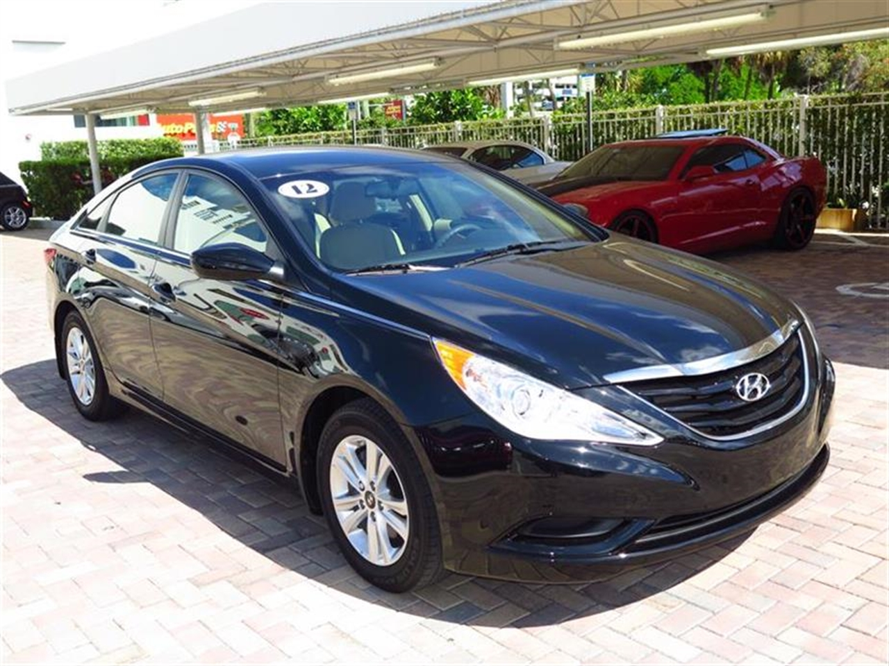 2012 HYUNDAI SONATA 4dr Sdn 24L Auto GLS 16713 miles 2 center console mounted 12-volt pwr outl