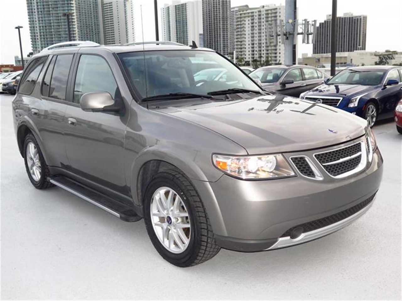 2009 SAAB 9-7X AWD 4dr 42i 61894 miles Air conditioning dual-zone automatic climate control with