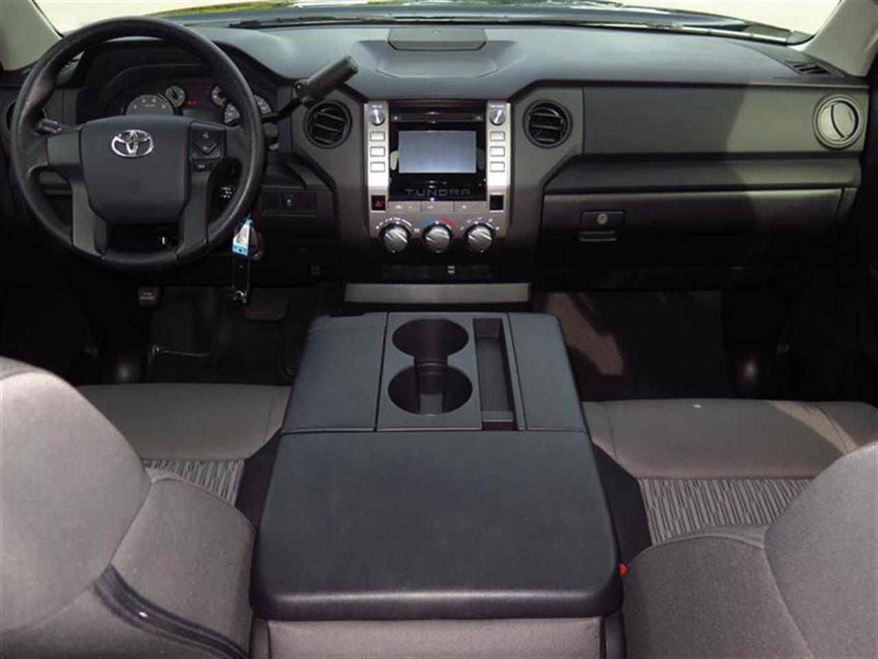 2014 TOYOTA TUNDRA 2WD TRUCK Double Cab 46L V8 6-Spd AT SR 6946 miles 1 Seatback Storage Pocket