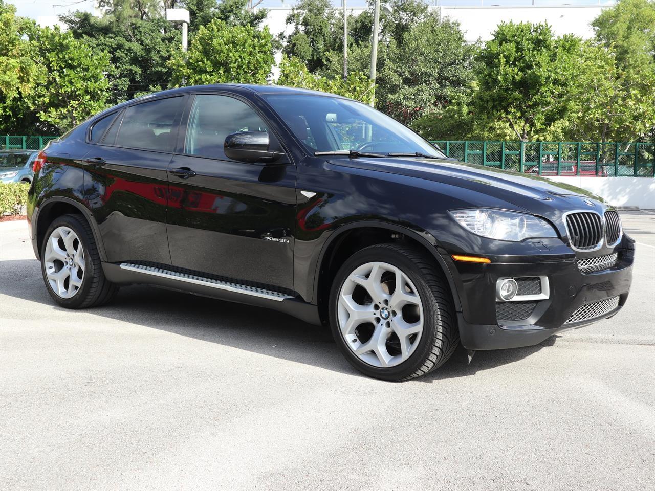 2014 BMW X6 AWD 4dr xDrive35i 7900 miles 2 Seatback Storage Pockets 4 Person Seating Capacity 5